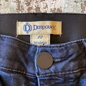 Democracy dark jeans size 12